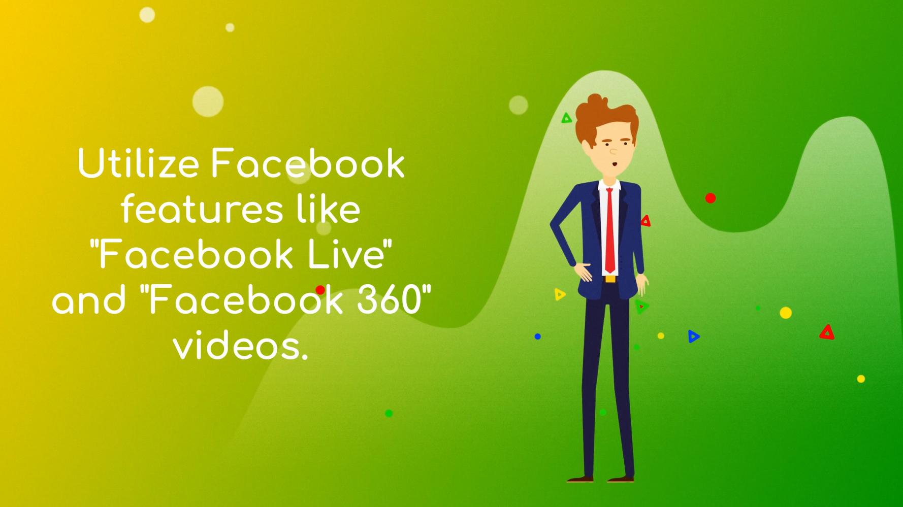 Facebook video marketing tip 2