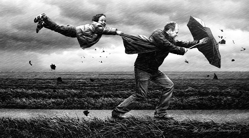Stormy weather Adrian Sommeling