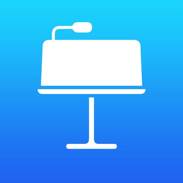 Keynote software by Apple