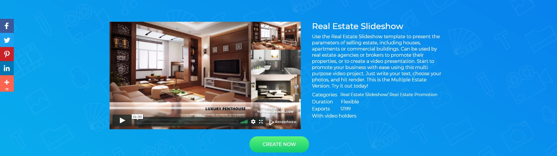 Real Estate Slideshow Template