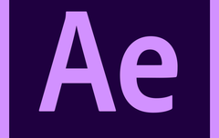 Adobe After Effects motion graphics tool Logo