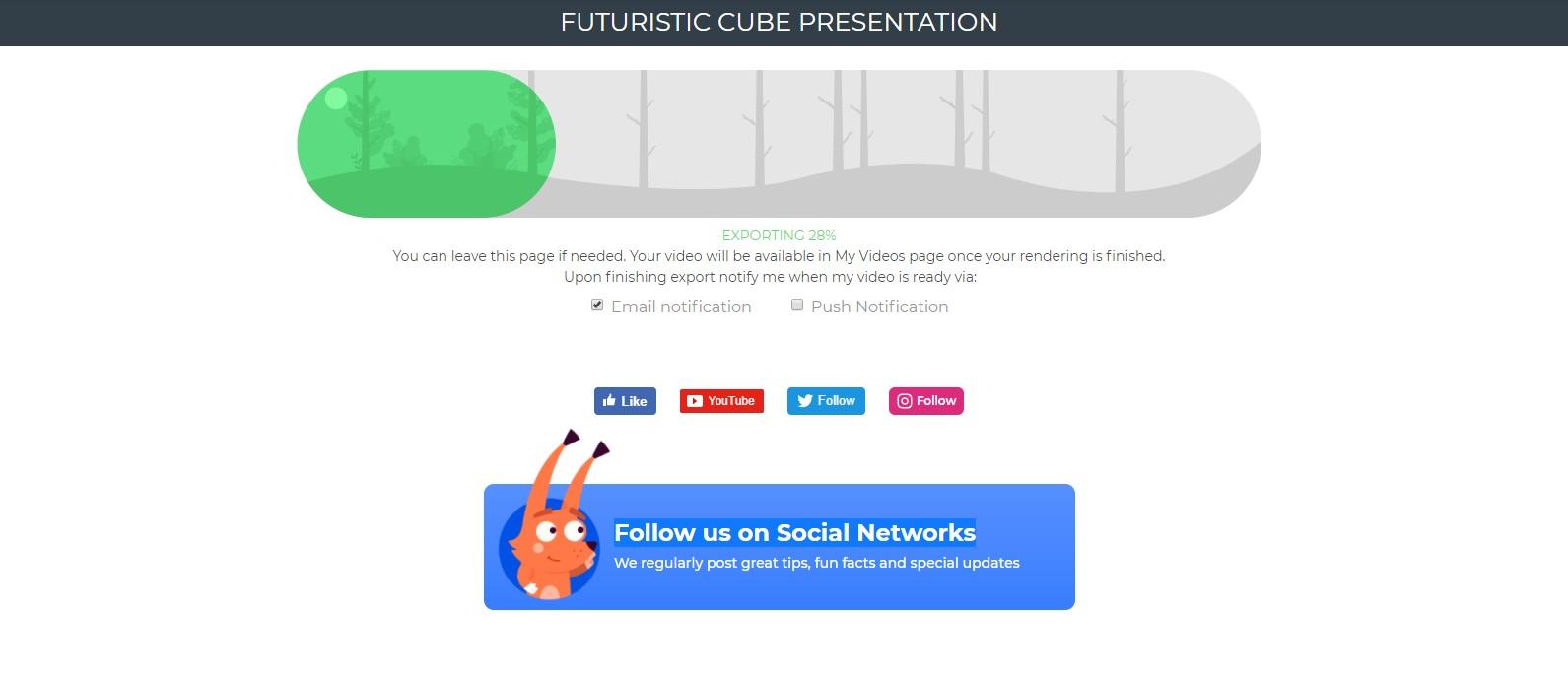Video Presentation Render