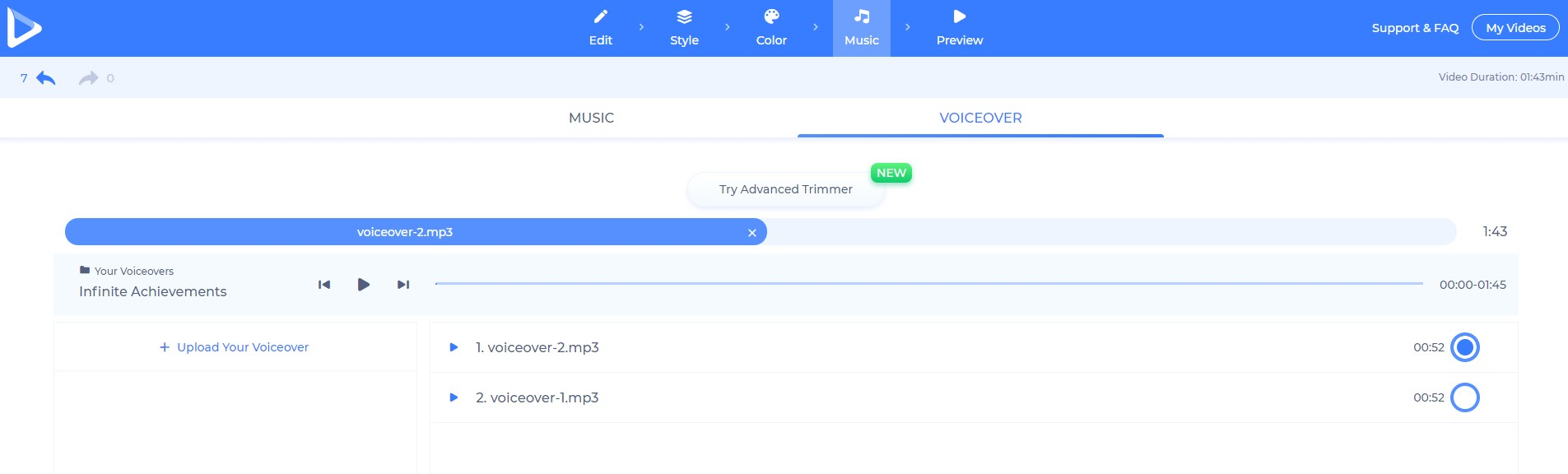 Whiteboard Animation - Add Voiceover
