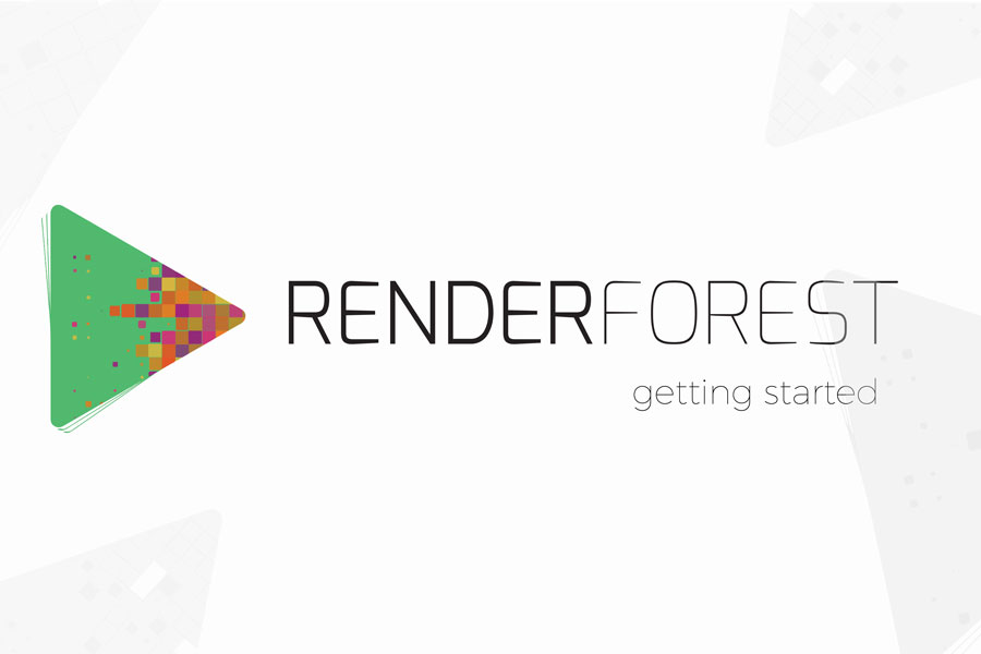 Getting started with Renderforest