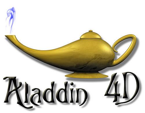 Aladdin 4D Logo