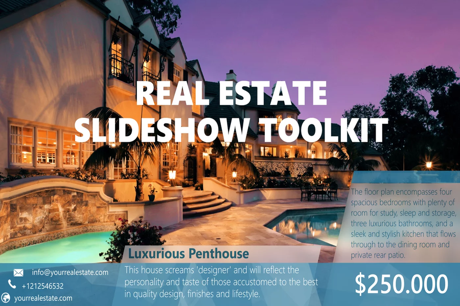 Real estate Video Marketing Online Tool