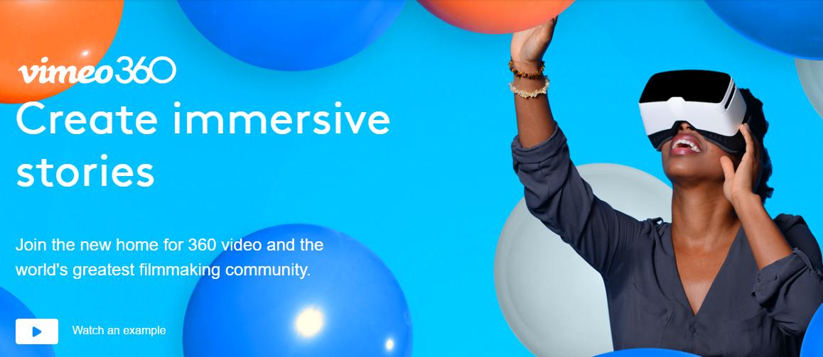 360-Degree app Vimeo