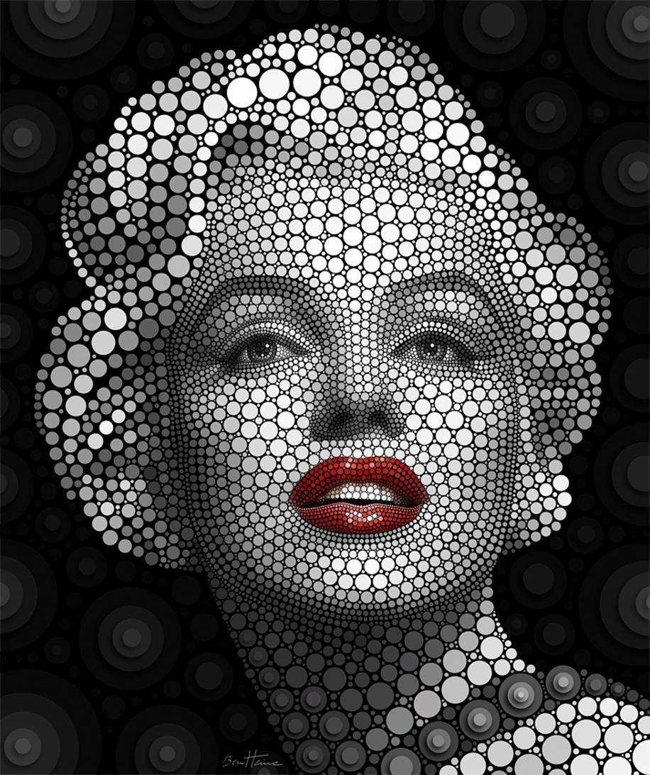 Marilyn Monroe Circlism