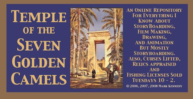 Temple of the Seven Golden Camels logo