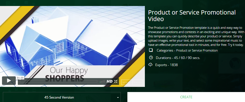How to create product or service promotional video