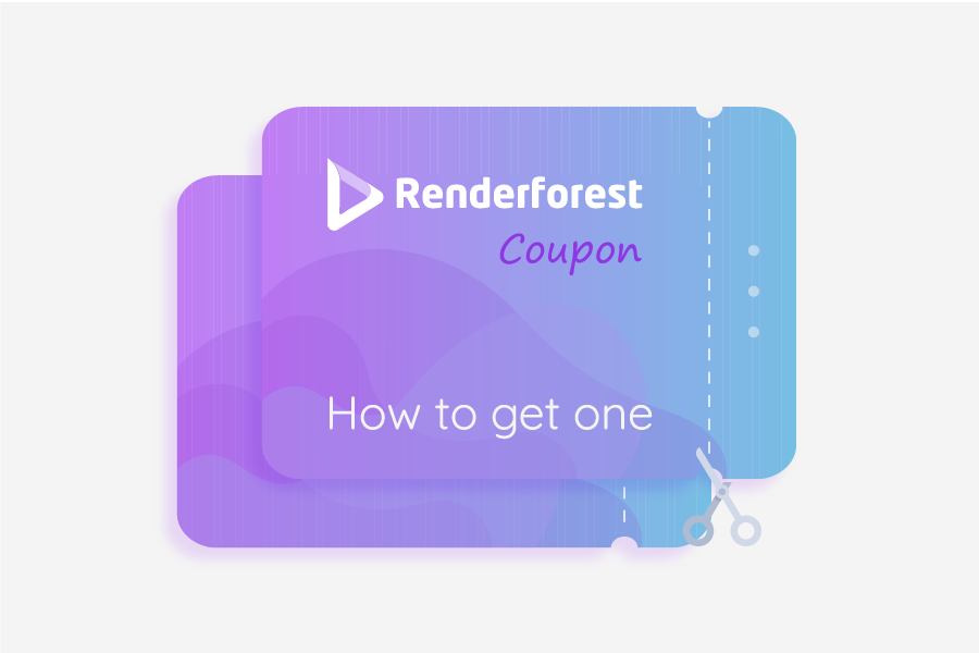 Renderforest Coupon: How to get one?