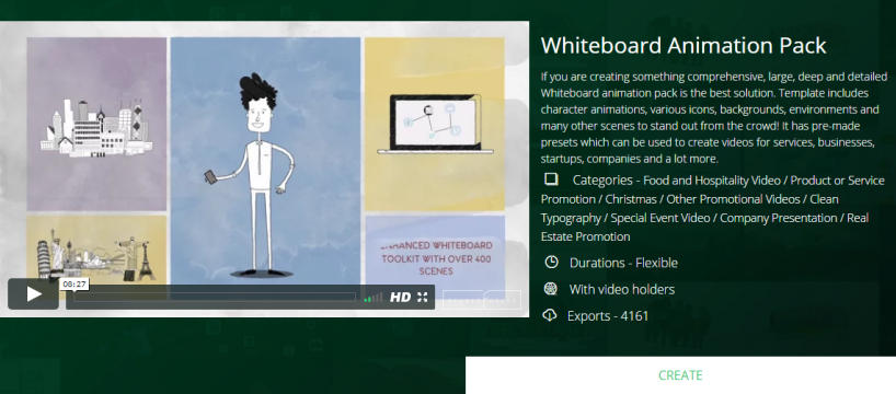 Whiteboard Animation Pack