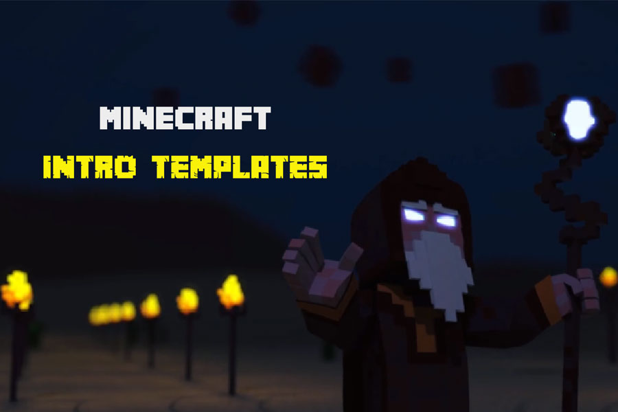 How To Create Free Minecraft Intros Online Renderforest - Minecraft pe server erstellen free