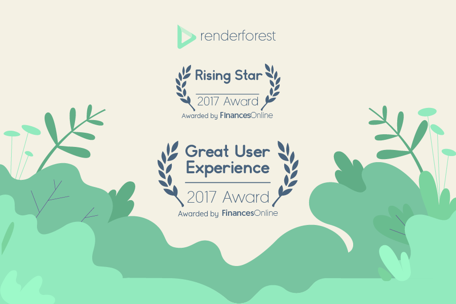Renderforest honored with two FinancesOnline awards for digital asset management software