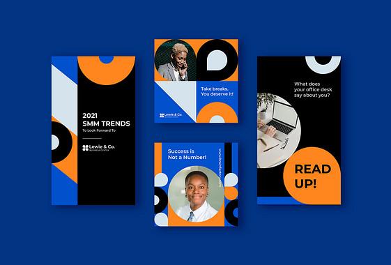 Pack de designs pour la promotion d'entreprises