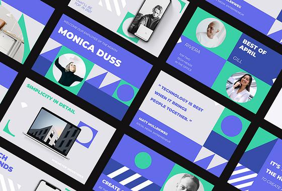 مجموعة تصاميم للترويج الشركات
