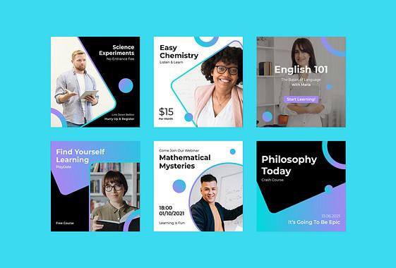 Paquete Promocional de Educación Online