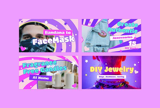 Kit de miniatures vidéo de bricolage