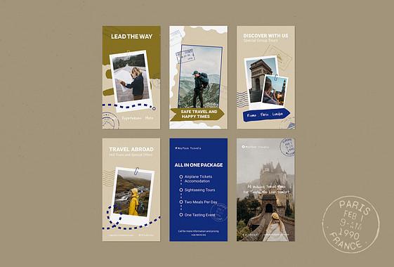 تصميمات ترويجية لوكالة السفر