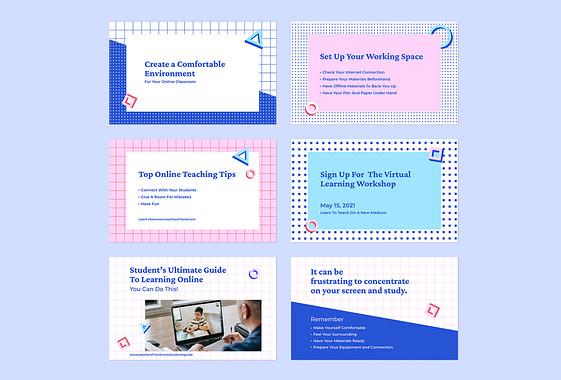 Set mit Online-Unterrichtstipps
