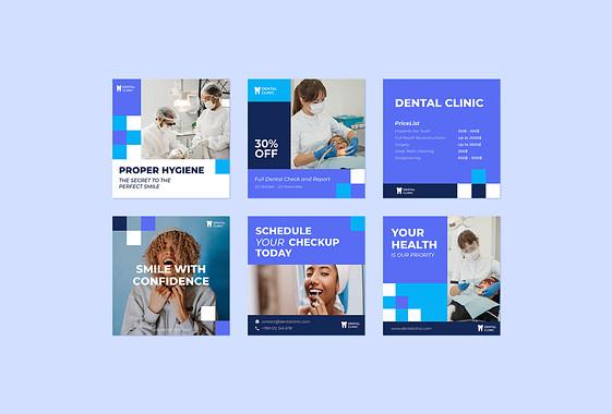 Набор дизайнов: Стоматология