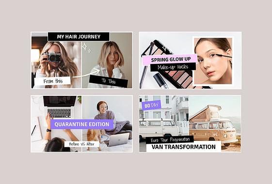 Vorher/Nachher-Transformation Vorschaubilder