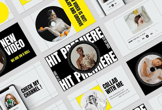 Paquete de Promoción de Música y Artistas