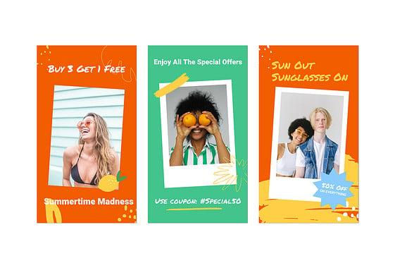 Hot Summer Discounts Set