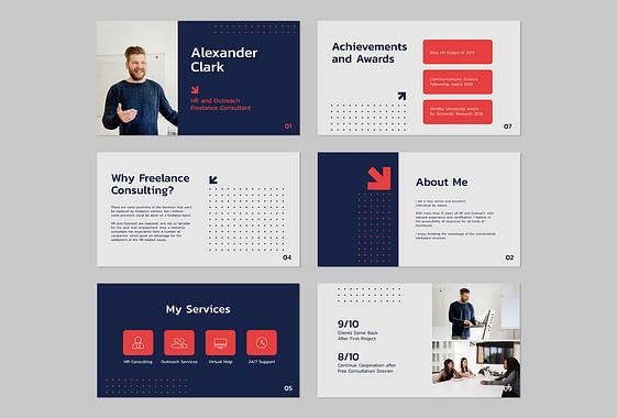 Personal Resume Presentation Pack