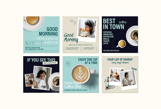 Coffee Shop Promotion Set