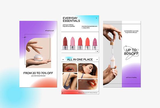 Kozmetik Markası Kampanya Paketi