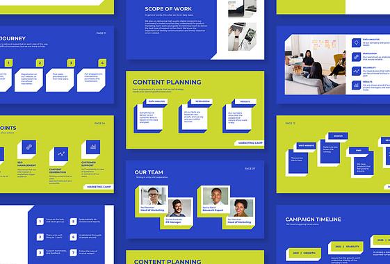 Slides para Estratégia de Marketing