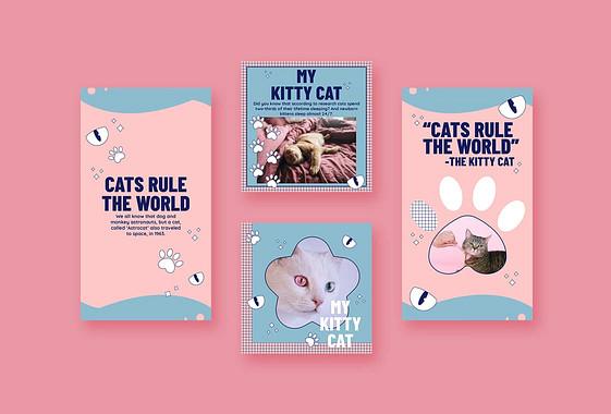 Cute Pet-Themed Designs