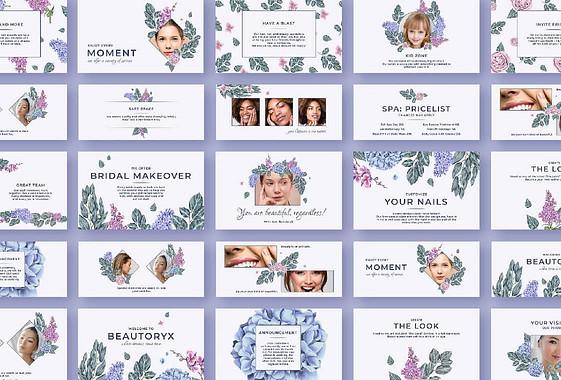 Beauty Salon Floral Visuals