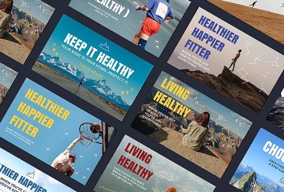 مجموعة الترويج للصحة واللياقة البدنية