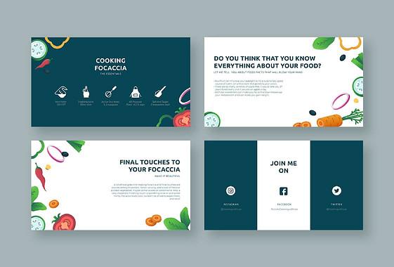 Paquete de Diapositivas de Taller de Cocina