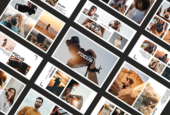 Paquete de Collage de Fotografías Estéticas