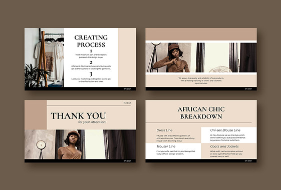 Fashion Line Presentation Pack
