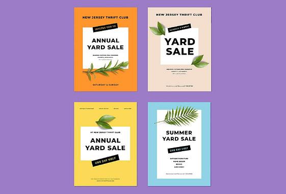 Yard Sale Visual Kit