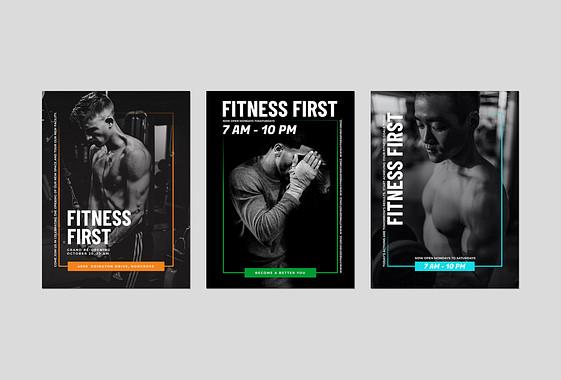 Conjunto Promocional para Centros Fitness