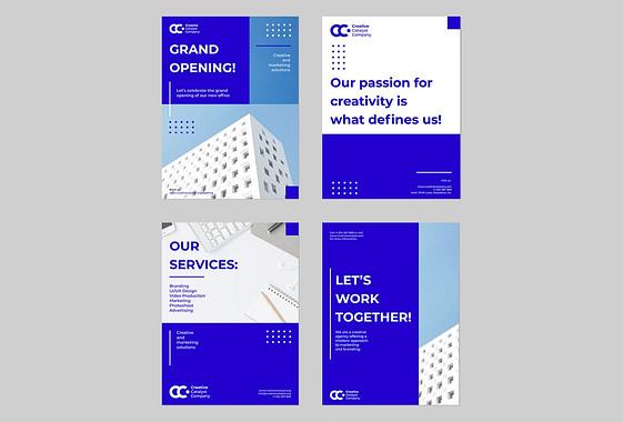 Minimalistisches Corporate Designpaket