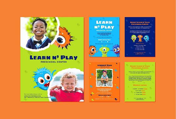 Набор для детского учебного центра