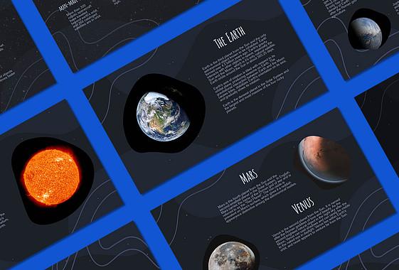 Solar System Educational Slides
