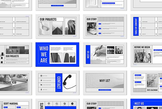 Architectural Portfolio Slides
