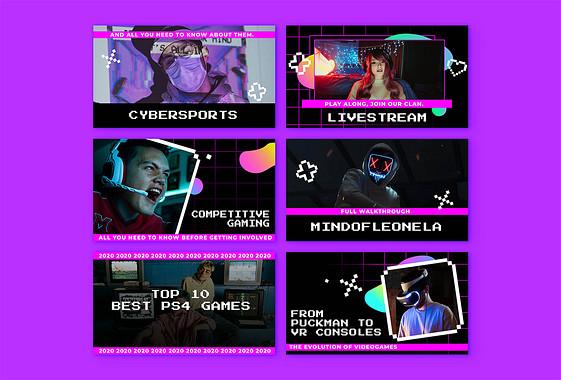 Variedad de Miniaturas de Videojuegos