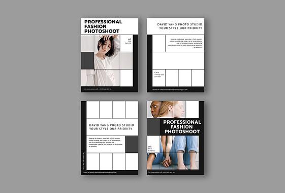 Дизайн промо для фотостудии