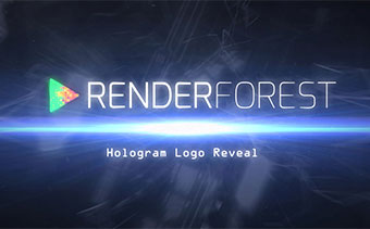 Hologram Logo Reveal