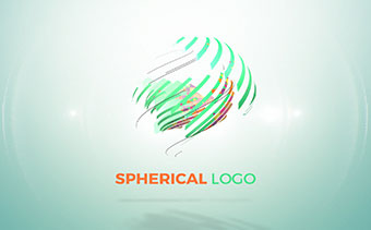 Spherical Logo String