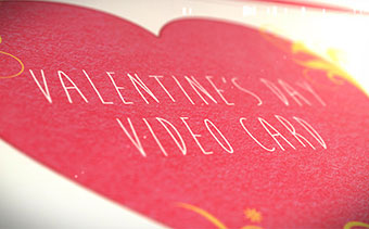 Valentine's Day Video Card