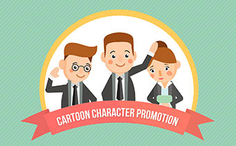 Cartoon Character Promotion